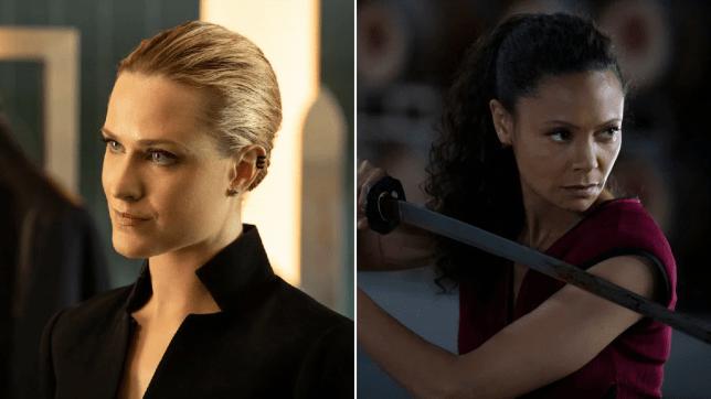 Westworld season 3 finale Evan Rachel Wood Thandie Newton