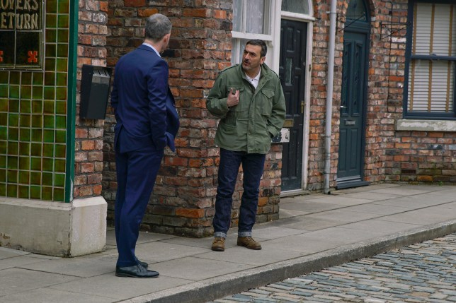 Peter and Nick in Coronation Street