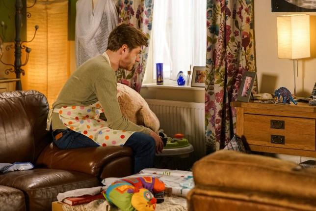 Daniel is lonely in Coronation Street