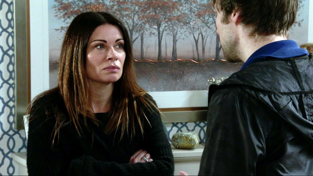 Carla and Jordan in Coronation Street
