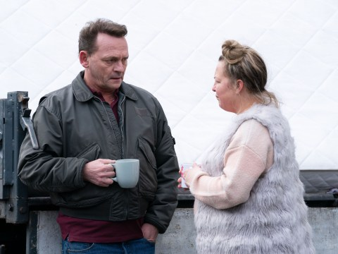 EastEnders spoilers:  Karen Taylor and Billy Mitchell torn apart as she exits in emotional scenes?