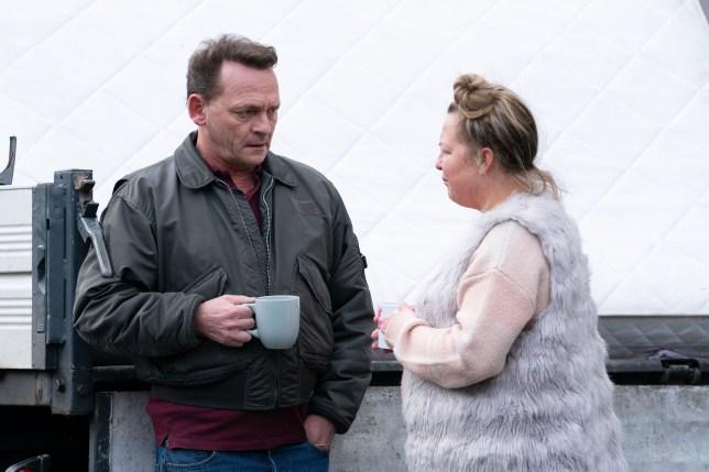 Billy and Karen in EastEnders