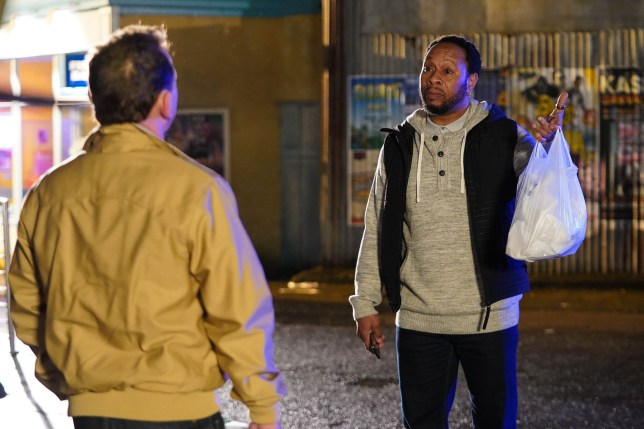 Mitch and Billy in EastEnders