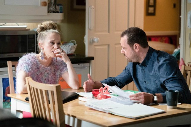 Linda and Mick in EastEnders
