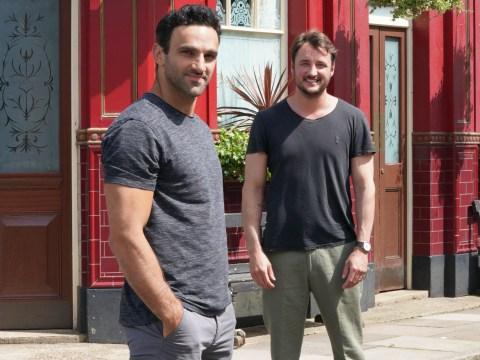 EastEnders stars James Bye and Davood Ghadami reveal huge secrets in next week's Secrets From The Square