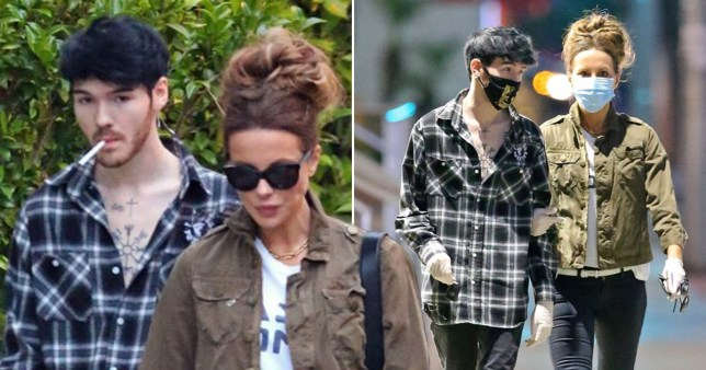 kate beckinsale and goody grace in la