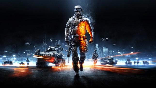 Battlefield 3 key art