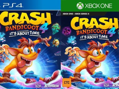 Crash Bandicoot 4: It's About Time leaked for PS4 and Xbox One