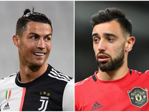 Bruno Fernandes reveals Cristiano Ronaldo is checking his progress at Manchester United