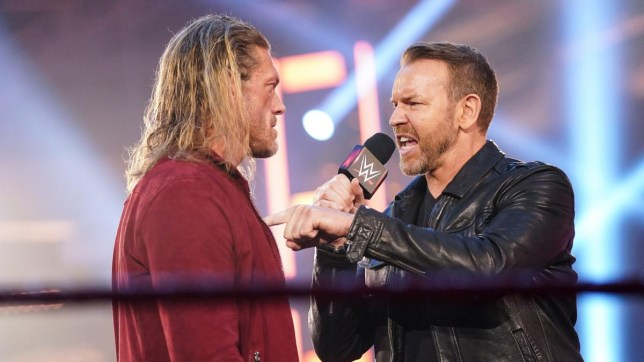 WWE legends Edge and Christian reunion on Raw for the Peep Show