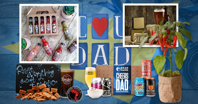 Father's Day: Last-minute food and drink gifts to be delivered straight to his door