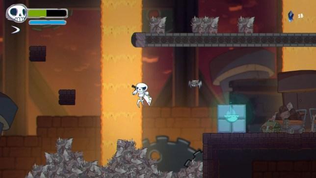 Skelattack screenshot
