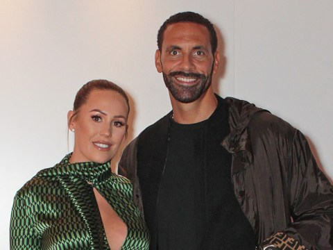 How long have Rio Ferdinand and Kate been together and when did they meet as the couple announce they are pregnant?
