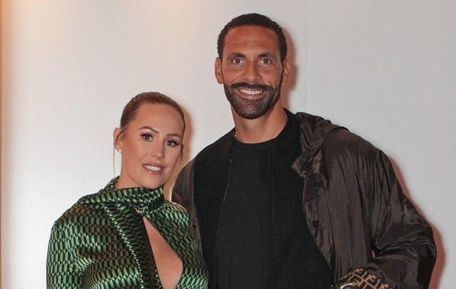 Kate and Rio Ferdinand