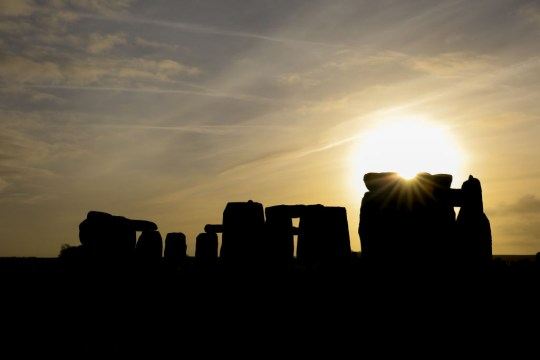 Winter Solstice Is Marked At Stonehenge