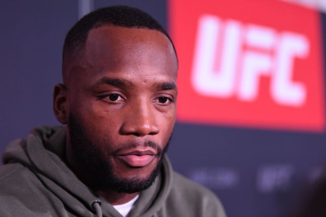 Leon Edwards at a UFC Fight Night: Ultimate Media Day