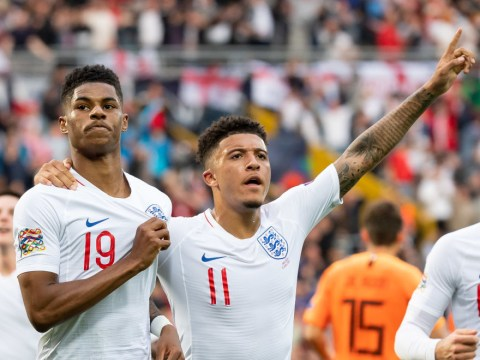 Jadon Sancho congratulates Marcus Rashford after free meals u-turn: 'I stand by you all the way!'