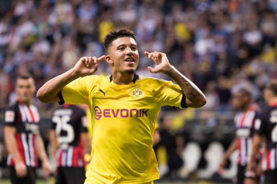 Manchester United and Liverpool are both interested in signing Sancho