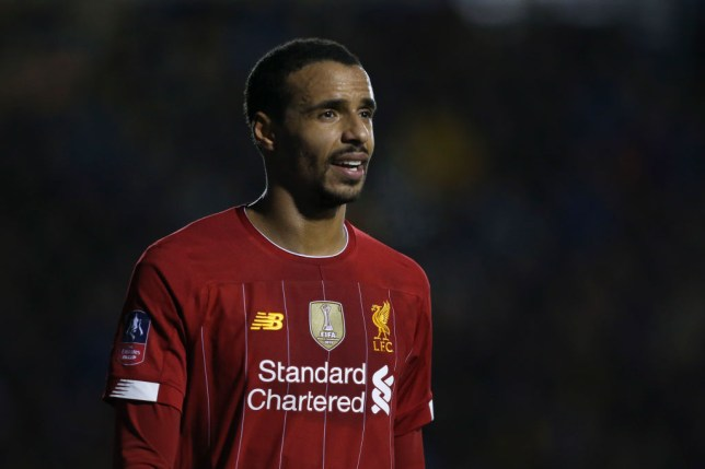 Joel Matip will miss the rest of Liverpool's Premier League season