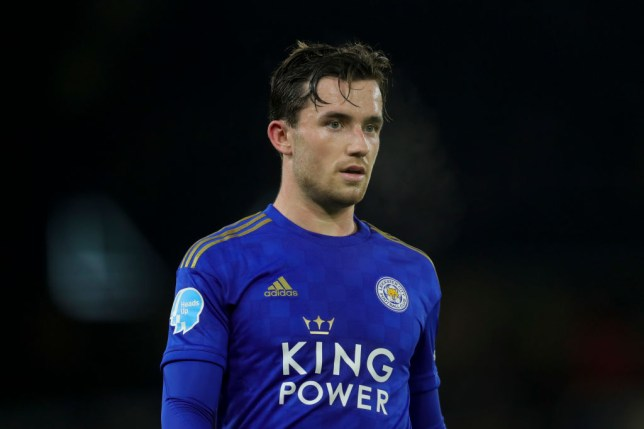 Leicester City left-back Ben Chilwell