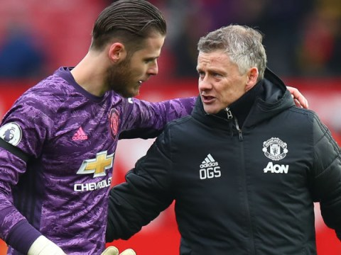 Ole Gunnar Solskjaer gives David de Gea 12 months to rescue Manchester United career