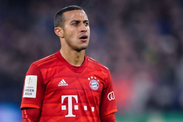 Thiago Alcantara is reportedly on Liverpool's summer shortlist