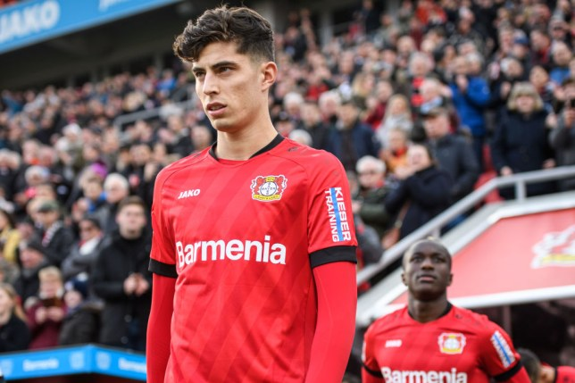 Bayer Leverkusen's Kai Havertz will have his pick of clubs this summer