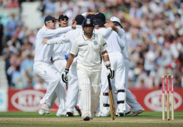 Tim Bresnan denied Sachin Tendulkar a landmark century at The Oval in 2011