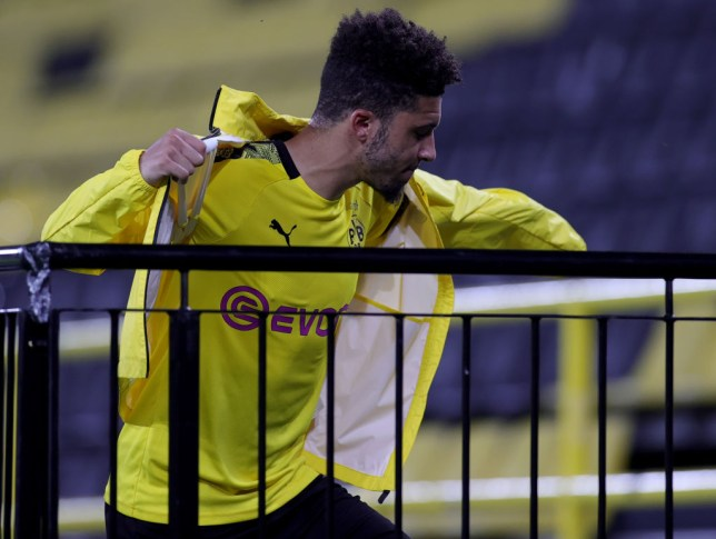 Borussia Dortmund chief explains Jadon Sancho benching