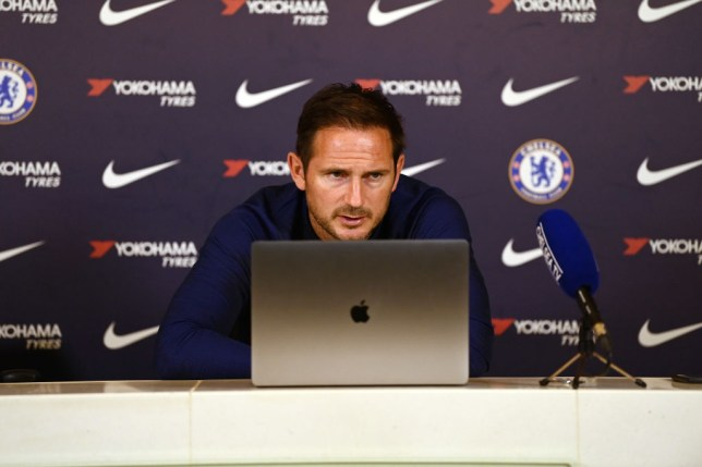 Frank Lampard has been told his 'biggest problem' at Chelsea