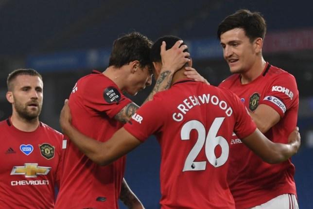 Man Utd News Gary Neville Compares Mason Greenwood To Robin Van Persie Metro News