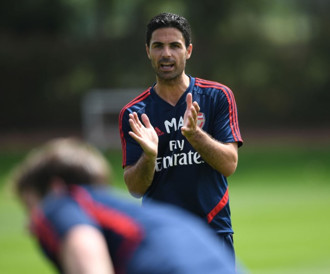 Arsenal are currently ninth in the Premier League under Mikel Arteta