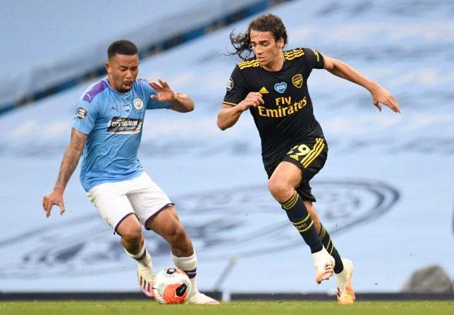 Manchester City v Arsenal FC - Premier League