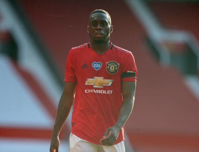 Aaron Wan-Bissaka joined Manchester United from Crystal Palace last summer