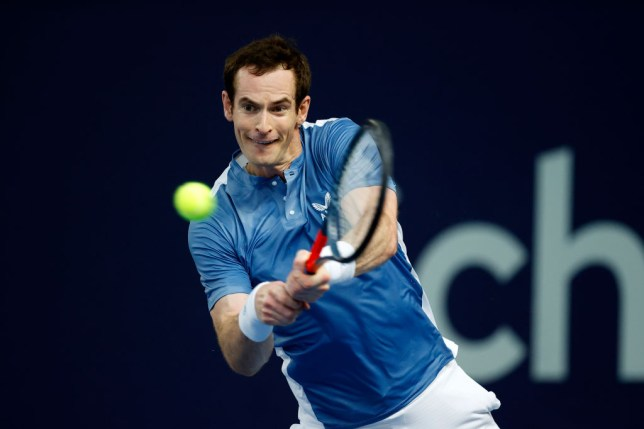 Andy Murray has withdrawn from the Schroders Battle Of The Brits third place play-off