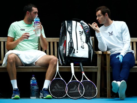 Andy Murray takes up coaching role before Dan Evans is crowned king of the Brits