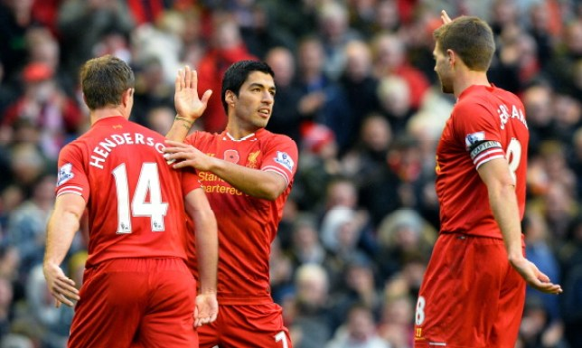 Jordan Henderson starred in a Liverpool team that came close winning the league in 2014 alongside Luis Saurez and Steven Gerrard