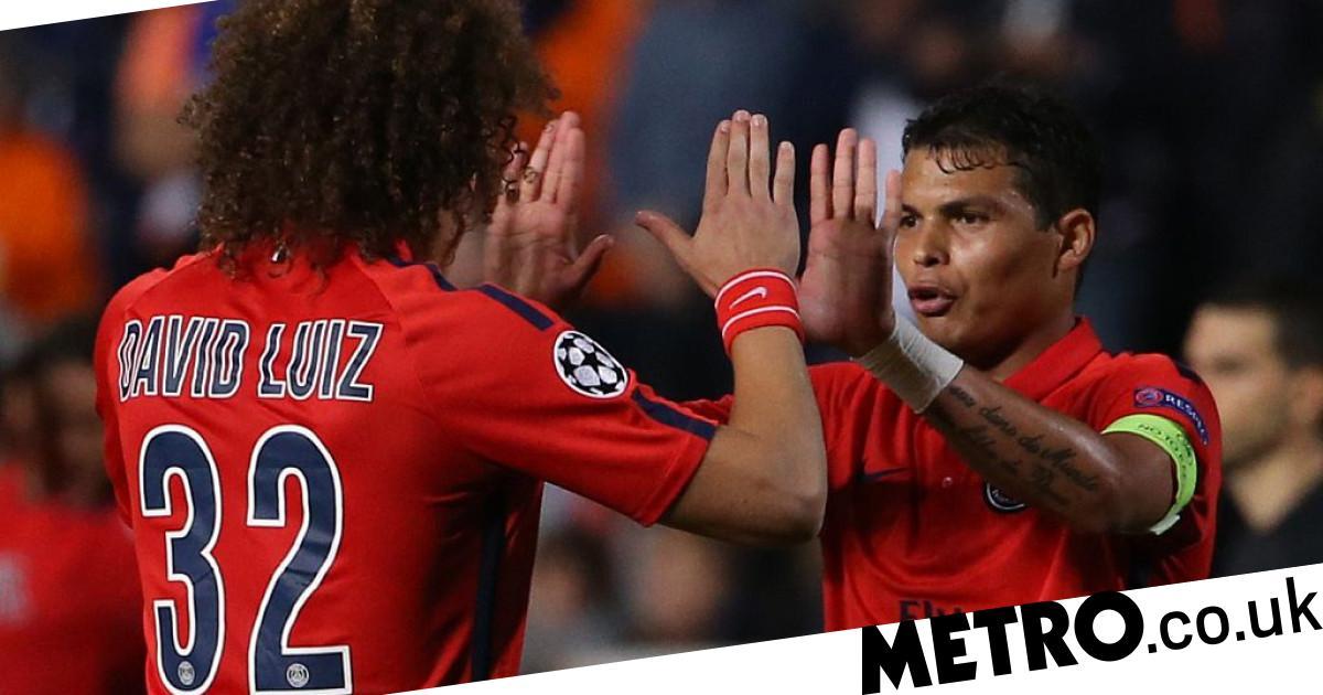 David Luiz pushing for Arsenal to sign Paris Saint-Germain star Thiago Silva