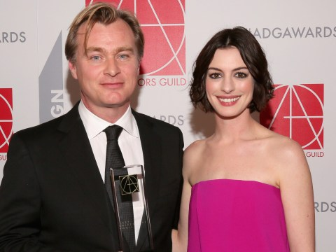 Anne Hathaway reveals Christopher Nolan doesn't allow chairs on set and fans are puzzled