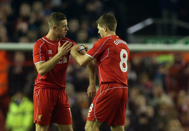 Steven Gerrard says he is 'proud' of Liverpool captain Jordan Henderson