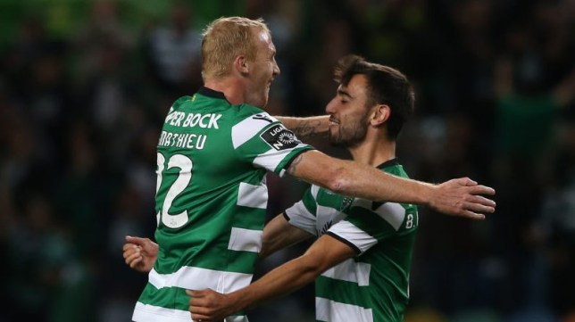 Jeremy Mathieu confirmed his retirement and was praised by his former Man Utd teammate Bruno Fernandes