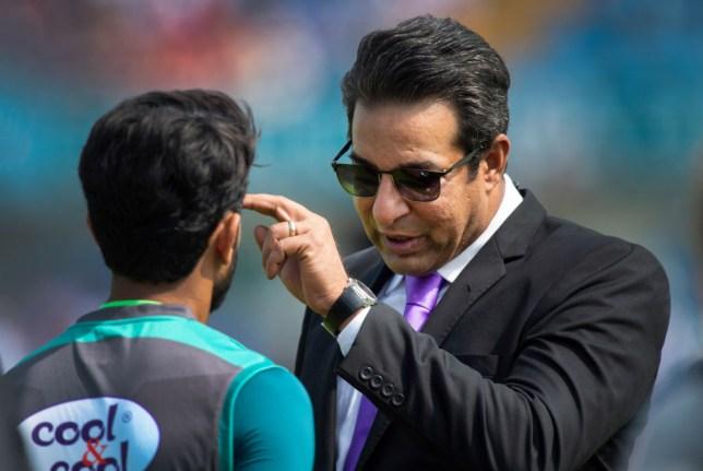 Former Pakistan captain Wasim Akram