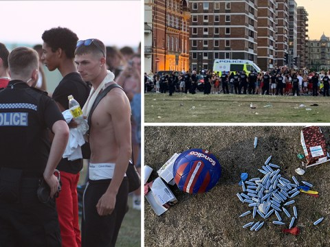 'Impromptu' party sees 2,000 people descend on Brighton seafront
