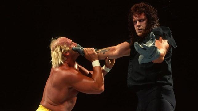 Hulk Hogan and The Undertaker (Photo: WWE)