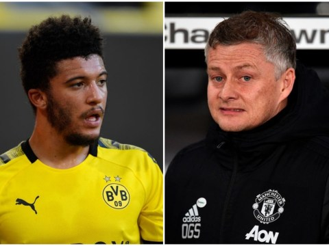 Jadon Sancho sends Manchester United fans into meltdown by dropping fresh transfer hint