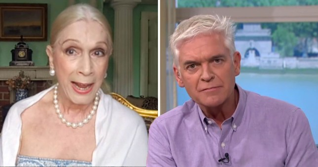 Phillip Schofield and Lady C clash on This Morning