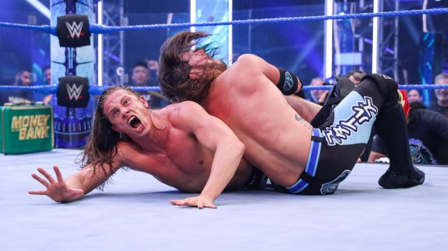 WWE superstars Matt Riddle and AJ Styles on SmackDown