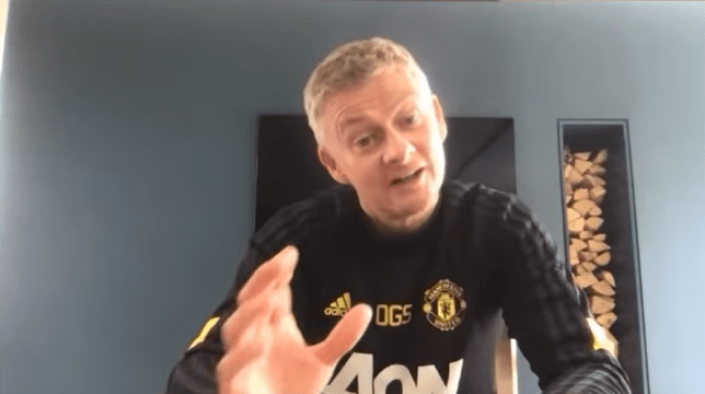 Ole Gunnar Solskjaer's side were on an 11 game unbeaten before the season was suspended
