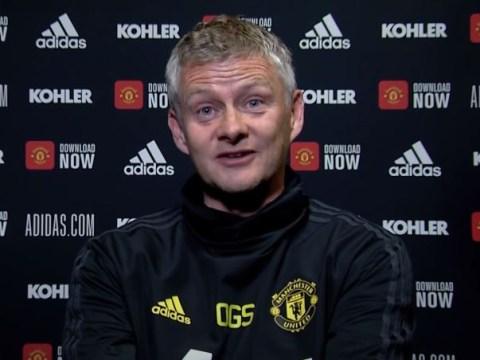 Ole Gunnar Solskjaer asked to rate Manchester United's chances of signing Jadon Sancho