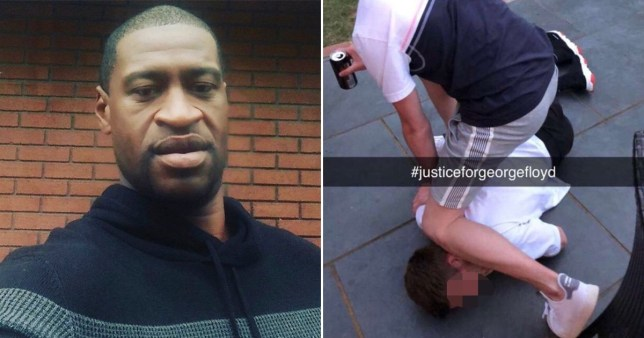 students mock George Floyd killing by acting out his death on Snapchat